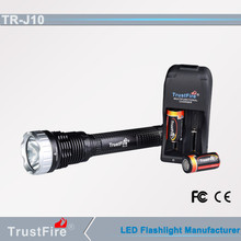 Multifunction super bright trustfire J10 police security led flashlight