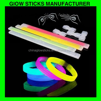 party favor glow stick promotional Gifts Glow Bracelets