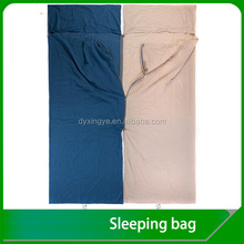100% Cotton Sleeping Bag Liner For Traveling