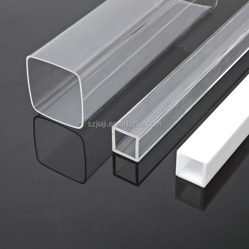 Hot sale Engineering plastic clear PMMA acrylic pipe tube