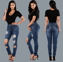 X87969A high quality women jeans trousers 2017 jeans new designs photos wholesale price pants