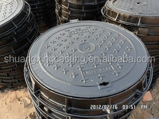 ductile foundry cast iron manhole covers good price top quality