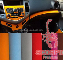 New product car body velvet vinyl sticker suede fabric for car