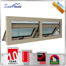 Australian standards As2047 As2208 luxury aluminum window manufacturer for easy installation