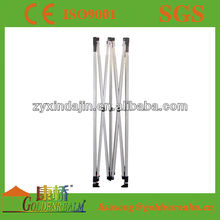 2m*2m 40mm hexagonal alu frame with metal foot