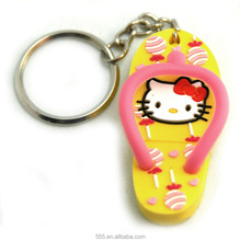 Cute women's slippers USB key, Custom pvc slipper shape usb stick 2.0 according to your design
