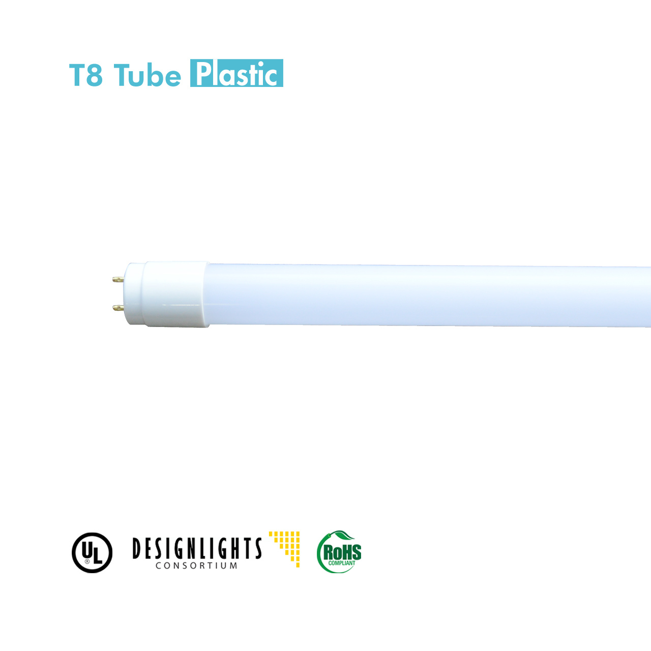 LED T8 Tube 2ft 9W 4000K. Base G13, 110-277V, CRI 80, Lumen 990, Lifetime 50,000hrs, 5 Year Limited Warraty