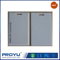Door Entry Printing Access Control 125KHZ RF ID/EM Card with serial numbers