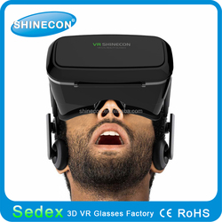 Shinecon All In One Vr Glasses Virtual Reality 3d Glasses Bluetooth 4.0 Android 4.4 Mobile Phone