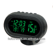 LCD car thermometer digital clock for car