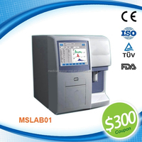 High quality fully automatic veterinary hematology analyzer clinical chemistry analyzer MSLAB01-L