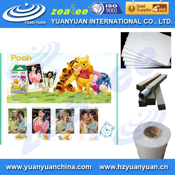 waterproof 150g glossy canon photo paper for inkjet printing in rolls
