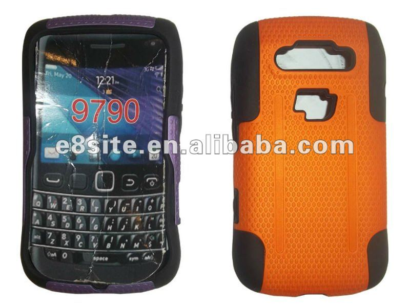 Hot Sale 2 in 1 Combo Cell Phone Case For BlackBerry 9790