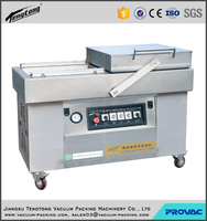 meat automatic double chamber vacuum packing machine or plastic bag sealing machine with CE certificate