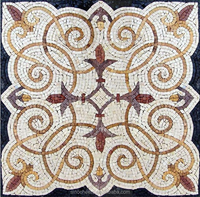 handmade marble mosaic accent