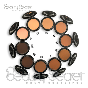 Compact Wholesale Makeup Face Pressed Powder Foundation Private Label