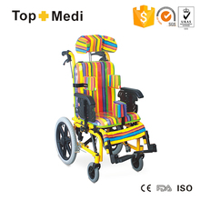 Aluminum lightweight Reclining Wheel Chair Wheelchairs for cerebral palsy children