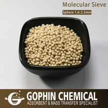 3-5mm Molecular Sieve 3A For Liquid Alcohol Drying