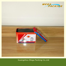 Multifunction used auto parts packing tin box,tin can for auto parts packaging