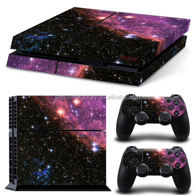 Vinyl Decals Skin Sticker for PS4 / Playstation 4 Controllers Console Galaxy