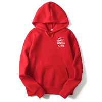 Simple Men Sports Hoodie Printed Custom Logo Hoodies