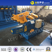 AUPU Q08 scrap metal shear Cast iron in Russia