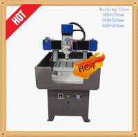 Factory price China 4040 mini metal cnc milling machine Mould making small cnc router 3030