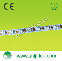 60leds/m DC5V programmable RGB WS2812B individually 5050 addressable color changing led strip