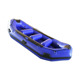 Inflatable Lifeboat Raft White Water River Raft Inflatable Boat River Lake Dinghy Fishing Boat