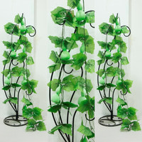 cheap wholesale hanging artificial gourd vine home wall decorative artificial fruit vegetable vine marking