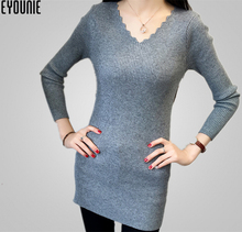 new models ladies knitting wool spandex pullover sweaters for girls