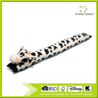 Cute Animal Cow Shape Plush Cover Cotton Door Stopper
