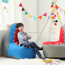 Children's room decorated lazy sofa, compressed canvas children's sofa