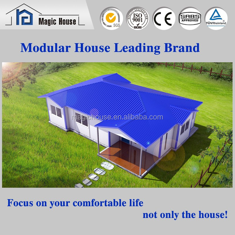 Sandwich Panel prefabricated timber frame house Price