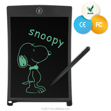 Howshow 8.5 inch kids magnetic digital writing tablet Lcd writing Board OEM environmental-friendly graphics memo pad