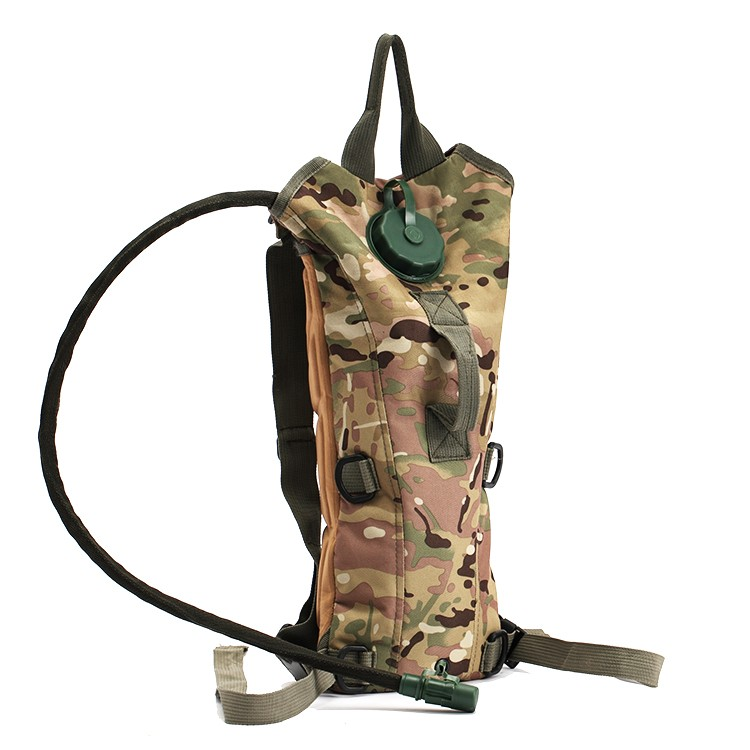 5L Military hiking tactical bag hydration water bladder pack backpack