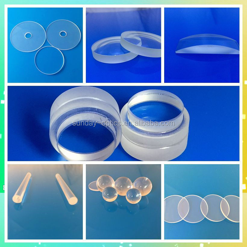 200mm Optical large Glass plano convex lenses