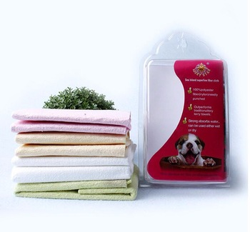 quality product microfiber dusting cleaning cloth with dog