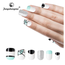 Fengshangmei Artificial New design new style Wholesale girls fake nail tips