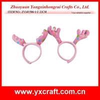 Christmas decoration (ZY14Y586-1-2 23CM) christmas antlers decoration headband christmas decoration gift headband ornament