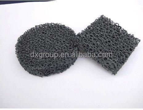 Silicon Carbide SIC Ceramic Foam filter for metal industry
