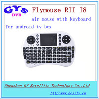 AIRMOUSE Rii i8+ 2.4G Wireless Mini Keyboard for ANDROID tv BOX with touchpad Airmouse