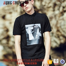 2017 Fashion Design 100% Cotton Polo T-Shirt With Factory Price