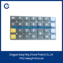 2012 water-proof silicon rubber keypads