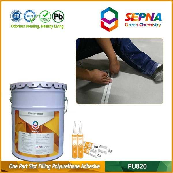 joint protection and crack repair dilatation joint adhesive sealant