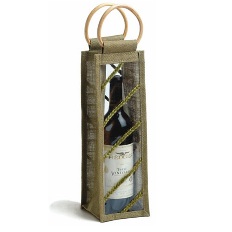 handle bag for non woven cotton drawstring wine bag bag in box wine dispenser