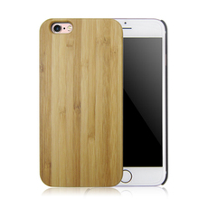 Natural bamboo wood case blank wood case, wood case for iphone 6