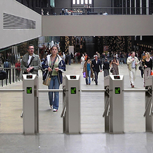 Electronic Security Turnstile