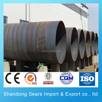 API 5L L290 spiral pipe/A515.Cr60 large diameter spiral steel pipe on sale/WStE39 spiral steel boning