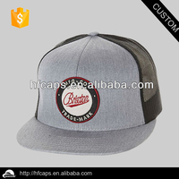 Applique back strap for hat custom mesh brand trucker hat